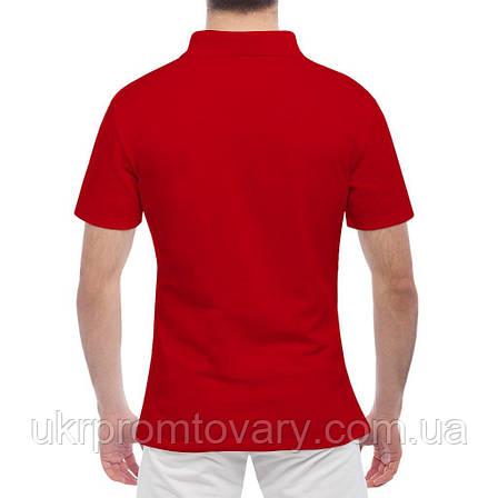 Мужская футболка Поло - Bayern мексиканский череп, отличный подарок купить со скидкой, недорого, фото 2