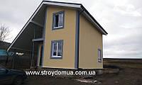 Каркасный дом из сип панелей, цена производителя Харьков