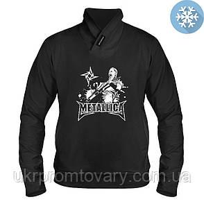 Толстовка утепленная - James Hetfield, отличный подарок купить со скидкой, недорого, фото 2