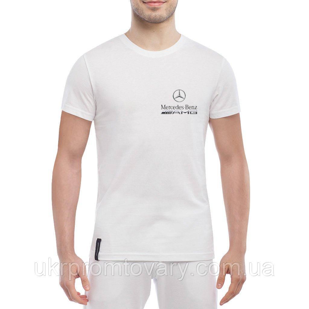 Мужская футболка - AMG Mercedes, отличный подарок купить со скидкой, недорого