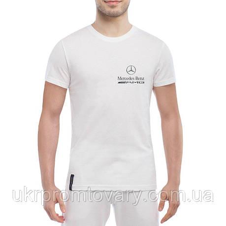 Мужская футболка - AMG Mercedes, отличный подарок купить со скидкой, недорого, фото 2