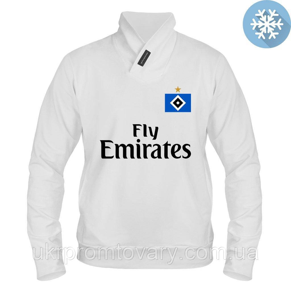Толстовка утепленная - Hamburger SV kit, отличный подарок купить со скидкой, недорого