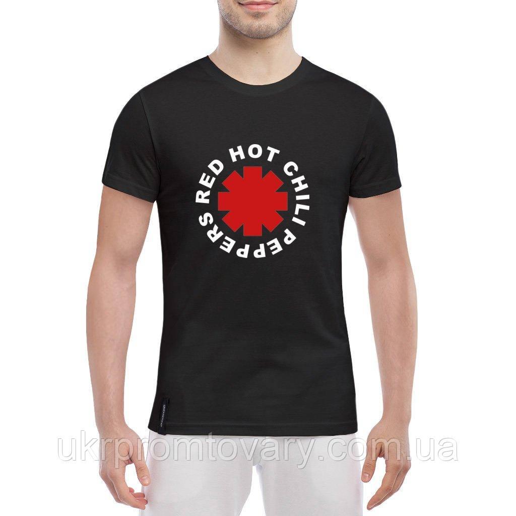 Мужская футболка - Red Hot Chili Peppers, отличный подарок купить со скидкой, недорого