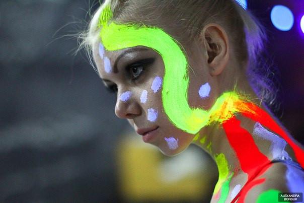 Краска светящаяся в темноте для тела Noxton - ООО Noxton Tech в Харькове
