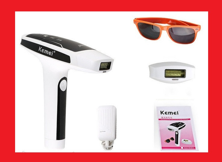 Kemei KM-6812 фото лазерный эпилятор