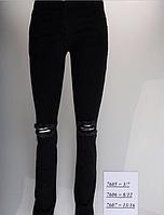 Модные рваные джинсы для девочек от 13 до 16 лет , фото 1