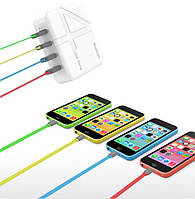 Сетевое зарядное устройство (СЗУ) на 4 USB - Yoobao 4 USB Travel charger (6.2A) YB-701EU