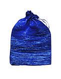Мішечок для карт Таро Синій, жатий сатин, фото 2