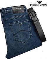 Стильные мужские джинсы Armani,на высокий рост (L-37)с удобной посадкой.