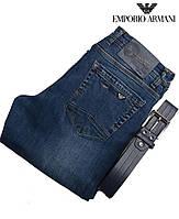 Очень качественные и стильные джинсы Armani с ремнем.