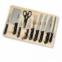 Набір ножів з обробною дошкою з дерева Eifa 912115 11 pcs