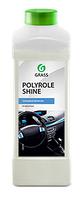 """Полироль для кожи, резины и пластика """"Polyrole Shine"""" глянцевый блеск 1л"""