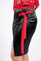 """Модная юбка """"Синди"""" велюр в расцветке"""