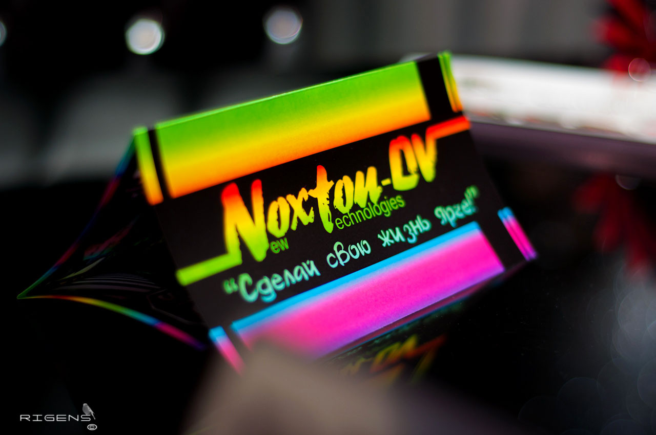 Люминесцентная (светящаяся) краска для оракала - ООО Noxton Tech в Харькове
