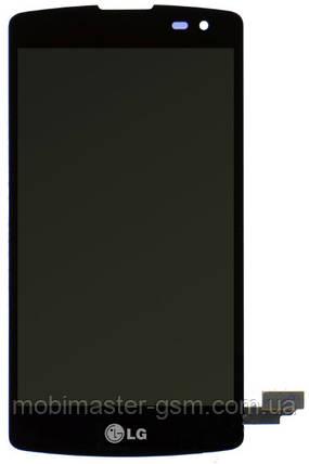 Дисплейный модуль LG F60 D390, F60 D390N, F60 D392 DUAL черный, фото 2