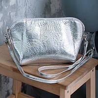 Кожаная сумочка на длинном ремне в любом цвете кожи или замши.