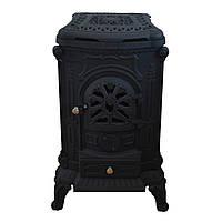 Печь чугунная Буржуйка Bonro Black double wall 9 кВт