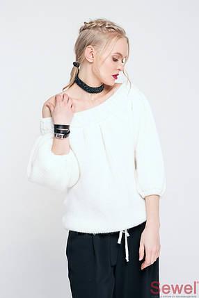 Женский модный свитер со спущенным плечом, фото 2