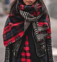 Как завязывать шарф плед