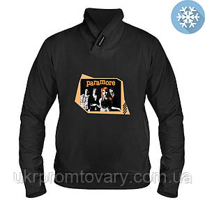 Толстовка утепленная - Paramore, отличный подарок купить со скидкой, недорого, фото 2