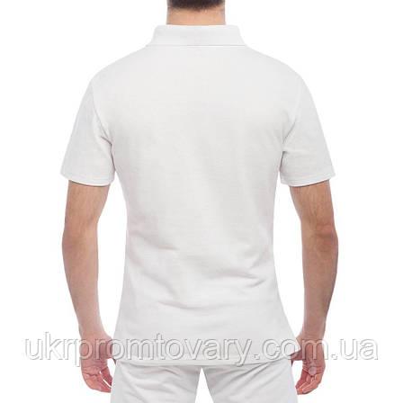 Мужская футболка Поло - I love Peace, отличный подарок купить со скидкой, недорого, фото 2