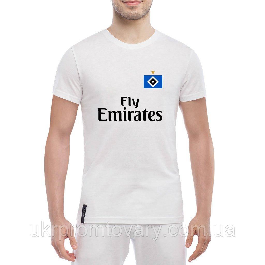 Мужская футболка - Hamburger SV kit, отличный подарок купить со скидкой, недорого