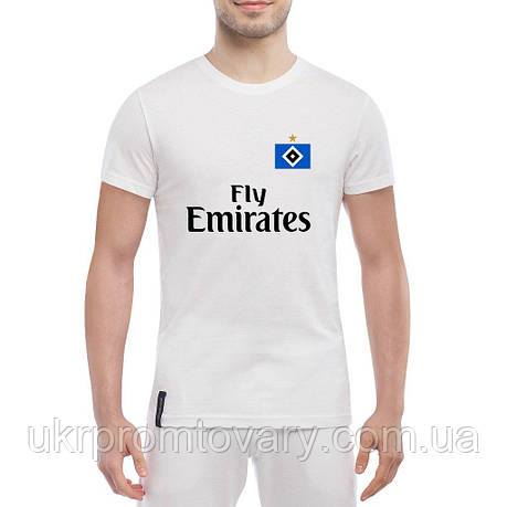 Мужская футболка - Hamburger SV kit, отличный подарок купить со скидкой, недорого, фото 2