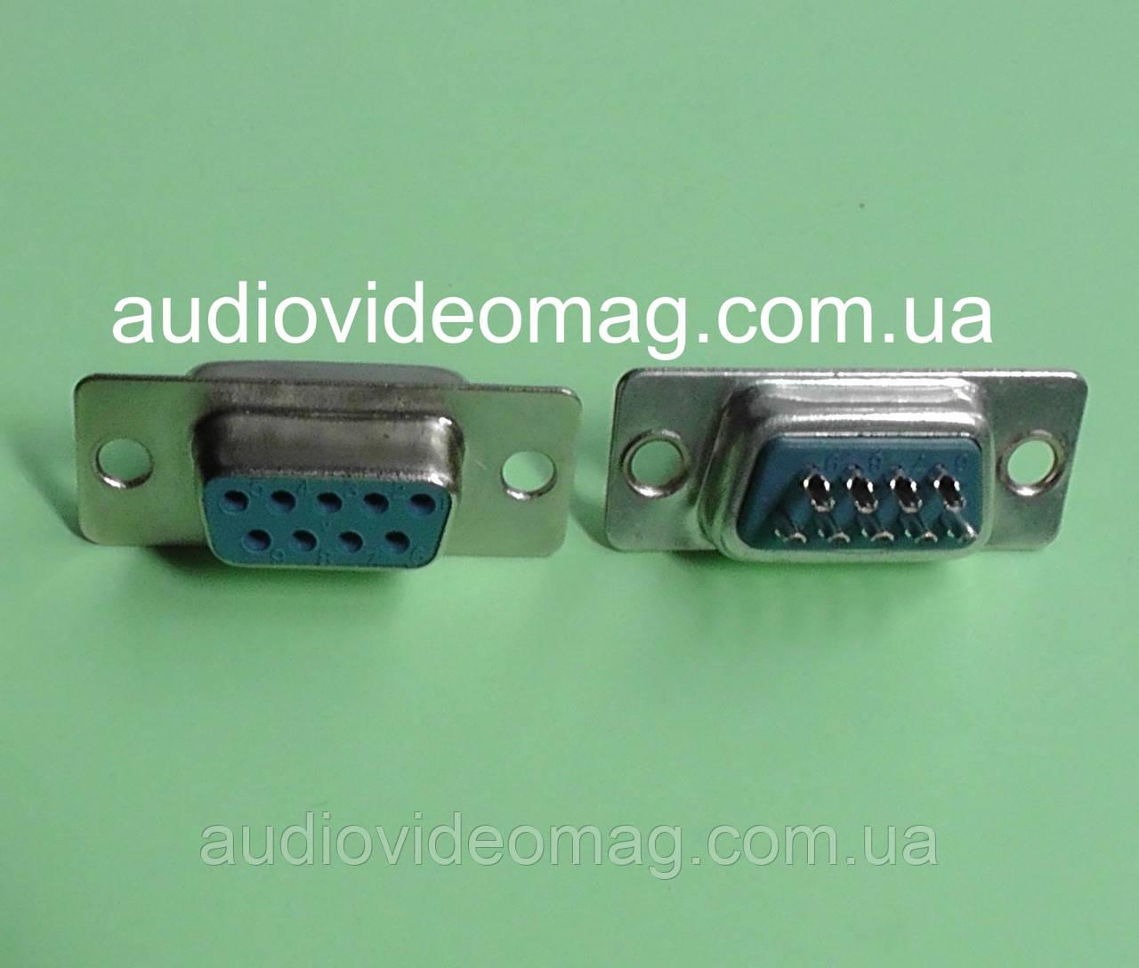 Разъем D-SUB 9 pin DB9-F (мама)