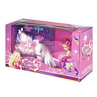 Карета 8619 с куклой  и лошадкой
