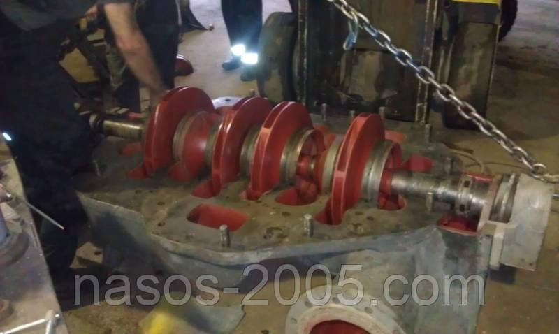 Ротор насоса ЦН 400-210б, запчасти насоса ЦН 400-210б