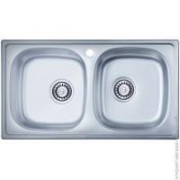 Кухонная мойка из нержавеющей стали ULA HB 5104 ZS DЕCOR