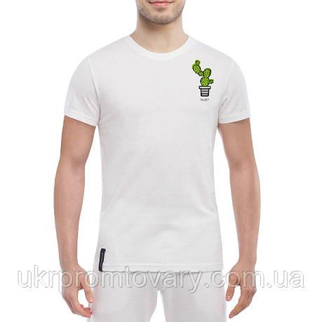 Мужская футболка - Обнимемся?, отличный подарок купить со скидкой, недорого, фото 2