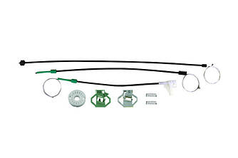 Ремкомплект механизма стеклоподъемника передней правой двери Skoda Octavia 1996-2004 до рестайлинга
