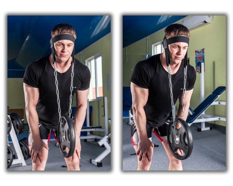 Упряжь для тренировки шеи Onhillsport D3 (OS-0337) - O-SPORT - спортивные товары оптом и врозницу в Харькове