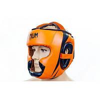 Шлем боксерский с полной защитой FLEX VENUM BO-5339