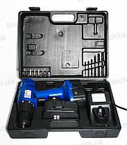 Аккумуляторный шуруповерт Витязь ДА-18-2, фото 2