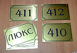 Номерки для камер хранения и примерочных, дублирующие номера на дверцы камер хранения, фото 5