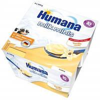 Пудинг ванильный Humana, 4 шт.