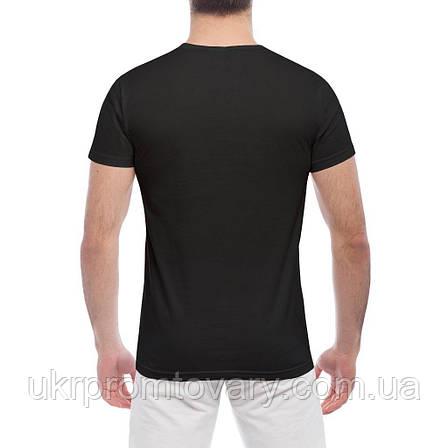 Мужская футболка - HBA logo, отличный подарок купить со скидкой, недорого, фото 2