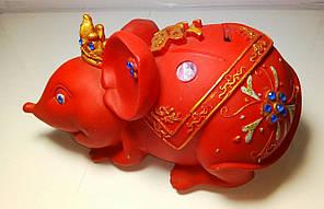 Копилка Мышь Красная