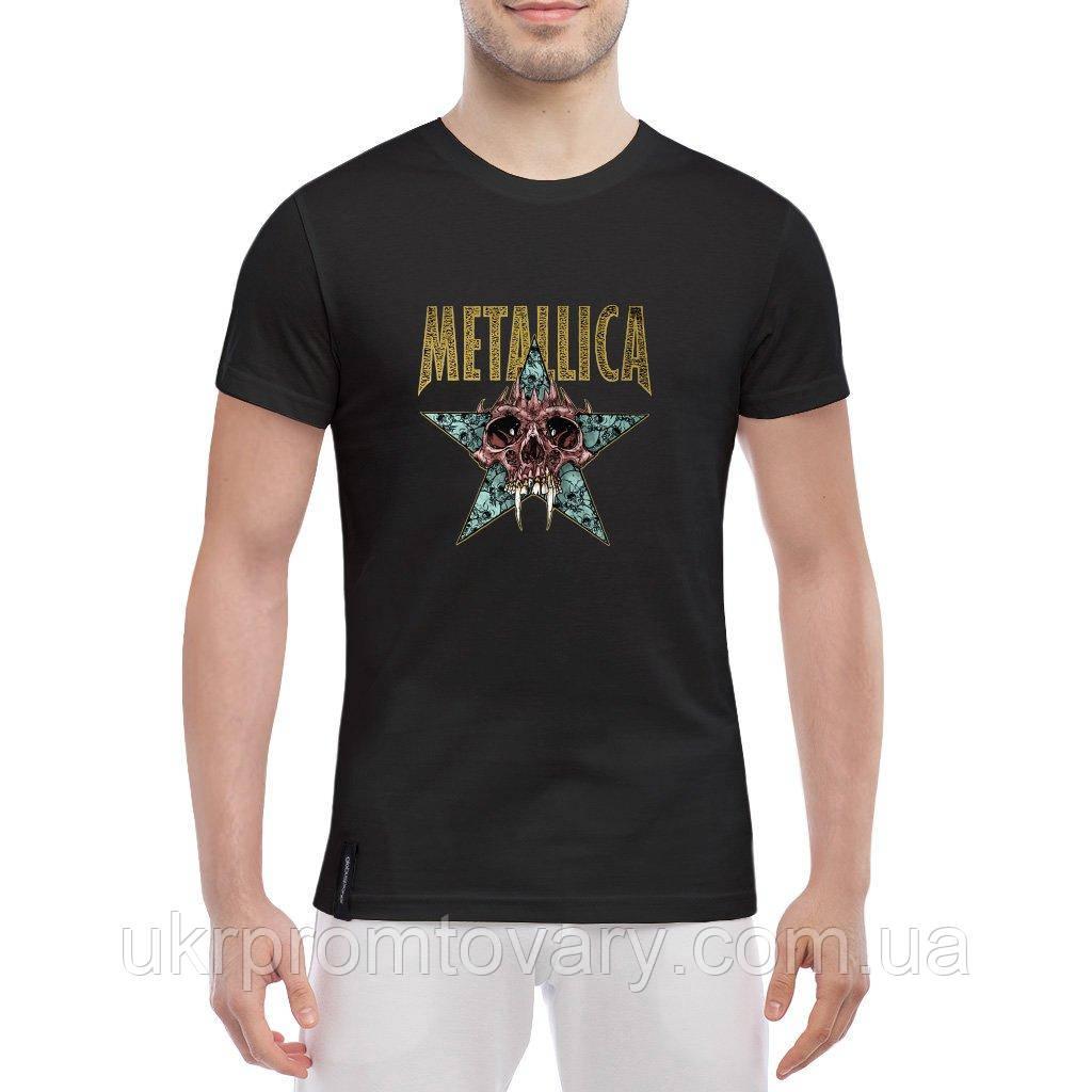 Мужская футболка - Metallica nothing, отличный подарок купить со скидкой, недорого