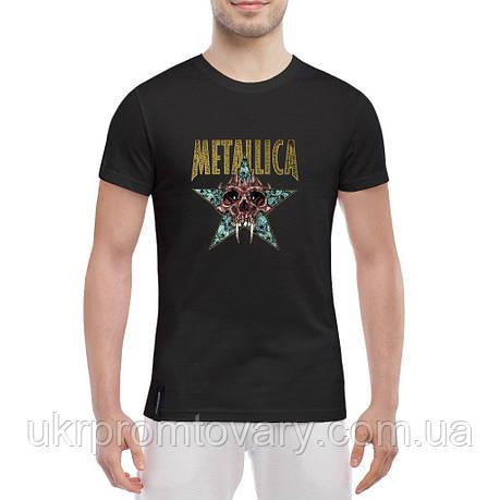 Мужская футболка - Metallica nothing, отличный подарок купить со скидкой, недорого, фото 2
