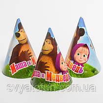 """Колпачок """"Маша и Медведь"""", 15 см, (20 шт/уп)"""