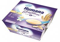 Пудинг манный Humana с ванилью, 4 шт.
