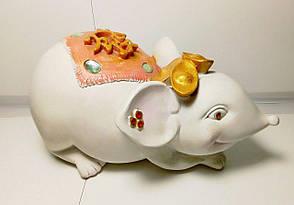 Копилка Мышь Белая