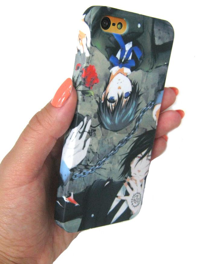 Чехол панелька  iphone 5 Темный дворецкий