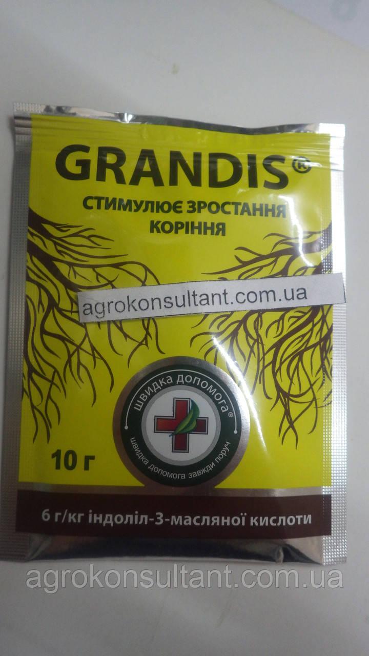 Укоренитель GRANDIS/ Грандис,10г —эффективный укоренитель для применения на саженцах, цветах, овощных культур