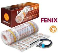 Теплый пол электрический Fensx(Феникс) 0,5 м.кв мат для укладки в кплитку с гофрой