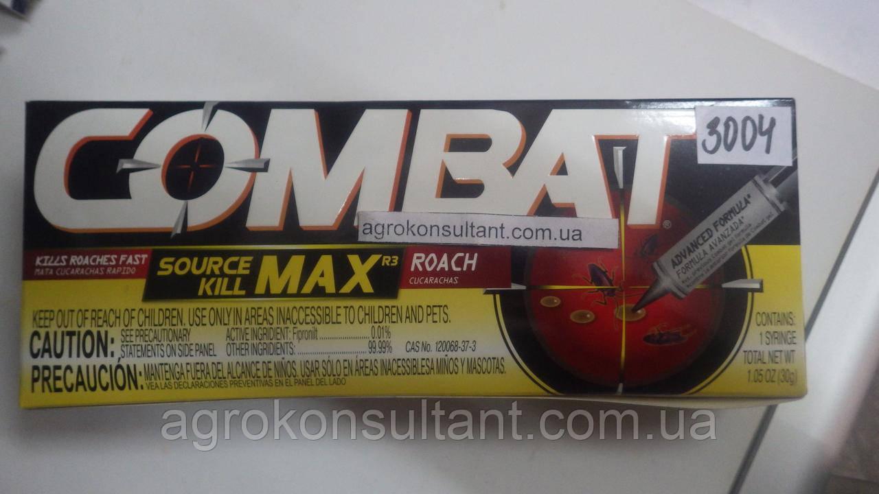 Інсектицид Combat / Комбат шприц-гель (30 мл) — засіб від тарганів та мурах