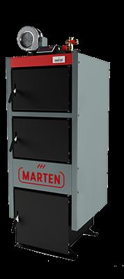 Marten Comfort MC-12-котел твердотопливный длительного горения для помещения до 120 м.кв., фото 1